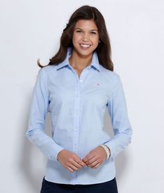 Oxford Style Button Down Shirt