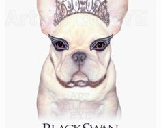 Original artwork by Susan Caton  I love dressing dogs as people from their famous portraits. This creation has a Brindle French Bulldog with crown in the same royal robes as a portrait of King Henry painting by Holbein that hangs in the National Portrait Gallery in London.  The face of the King is hand painted using a Wacom tablet to show detail and expression. The background behind the Frenchie King is a hall in Hampton Court the Palace Henry built for his Queen Anne.  I am happy to take…