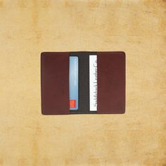Leather Credit Card Wallet & Business Card Wallet
