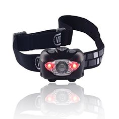Vitchelo V800 Headlamp Flashlight with Red LED Black * You can get more details by clicking on the image.Note:It is affiliate link to Amazon.