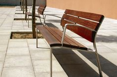 Landscape Forms Neoliviano Bench