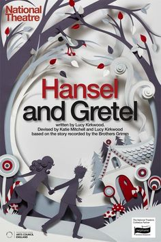 Hansel and Gretel cover by Helen Musselwhite