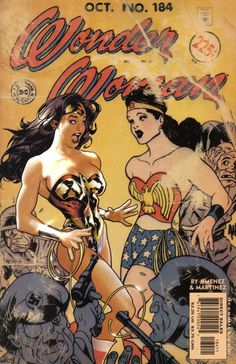 Cover for Wonder Woman (DC, 1987 series) #184