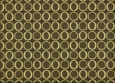 Sage Green and tan Modern mid century Contemporary Circles Upholstery  fabric