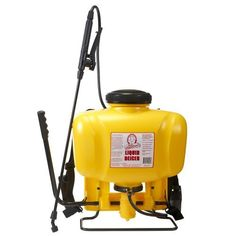 Hudson 13194 Commercial Bak-Pak 4 Gallon Sprayer by Hudson. $62.99. Large poly shut-off valve - comfortable thumb-operated. Bonus nozzle system with 4 different spray settings. PVC power sprayer style hose. Powerful piston pump. Viton seals and gaskets. Left or right handed pumping action. Extra large fill opening prevents spills when adding chemical. Extra long 20-inch fiberglass/poly spray wand. For home, lawn and garden rely on Hudson sprayers to protect against insects, we...