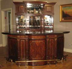 Classic home bar design ideas. #classichomebardesign