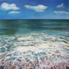 After Wave by Dawn Adams Dawn, Waves, Paintings, Paint, Painting Art, Painting, Drawings, Beach Waves, Pictures