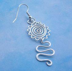 Artyzen Studio: Earring Tutorial - Sunny Spiral