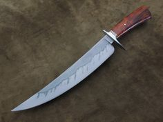 Upswept Bowie in W2 and Desert Ironwood