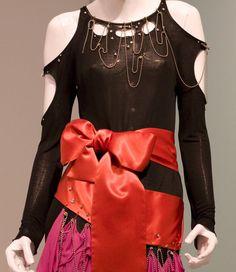 """Zandra Rhodes """"Punk dress"""" c.1977-78"""