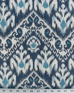 Amaya Monaco Blue | Online Discount Drapery Fabrics and Upholstery Fabric Superstore! FOR KATIE