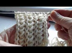 Sewing Tutorials For Baby Stitches 22 Ideas Knitting Stiches, Lace Knitting, Crochet Stitches, Knitting Designs, Knitting Patterns, Sewing Patterns, Crochet Patterns, Tunisian Crochet, Crochet Videos