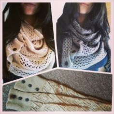Grace and Lace Nellie Knit Scarves and Lou Lou leg warmers