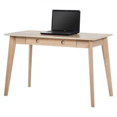 Schreibtisch Knoppe - Eiche teilmassiv