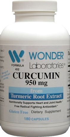 Curcumin 950 mg - 180 Capsules * Details can be found by clicking on the image. (This is an Amazon Affiliate link)