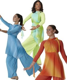 multiple praise dance garments. for a free booklet on praise dance email Angela Williams at awilliam4000@gmail.com