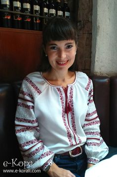 Ukrainian blouse  woman