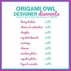 origami owl discounts 28 images origami owl discount