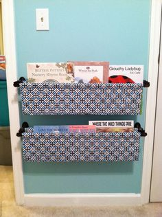 Book sling lowes creative ideas cute for the twinkies future cozy creative ways to display books in the nursery solutioingenieria Choice Image