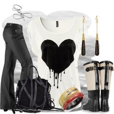 """""""heart contest"""" by giuliana-g-1 on Polyvore"""
