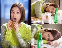 Cute still-cuts from 'Hyde Jekyll, Me' show a passed out Hyeri from too much drinking | http://www.allkpop.com/article/2015/02/cute-still-cuts-from-hyde-jekyll-me-show-a-passed-out-hyeri-from-too-much-drinking