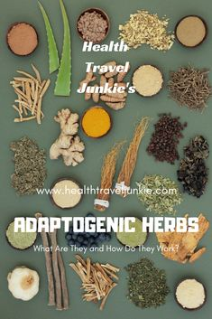 Adaptogenic Herbs: What are they and how do they work? #adaptogen #adaptogenic #adaptogenicherbs #adaptogens