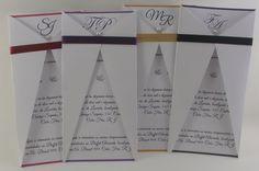Convite Interno em papel Opaline 180grs <br>- Envelope convite Papel Couche Branco 180grs <br>- Convite Interno qualquer cor impresso em folha branca <br>- Pode incluir foto <br>- Tema da arte pode ser modificada a critério do cliente. <br>- Acompanha fita de cetim (cor a escolher) e acessorio (meia perola ou strass a critério do cliente) <br> <br>Dimensão: 10x20cm <br> <br> <br>NÃO ENVIAMOS AMOSTRAS. <br>ITENS VENDIDOS SEPARADAMENTE: <br>Convites individuais…