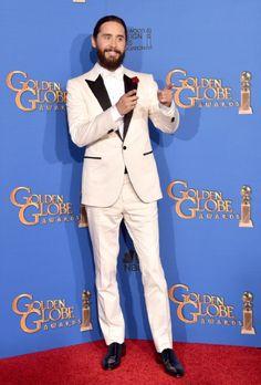 Jared Leto at event of 72nd Golden Globe Awards (2015)