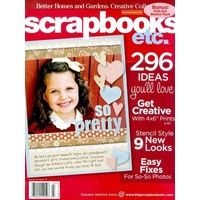 Scrap-booking ideas.....  I love the ideas in the magazine, and when I started scrape booking this magazine was a great tool.