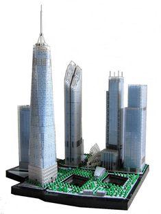 LEGO Architeture - Lower Manhattan, Ground Zero