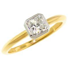 Engagement Ring Types, Platinum Engagement Rings, Vintage Engagement Rings, Platinum Ring, Diamond Cluster Ring, Diamond Stone, Radiant Cut Diamond, Diamond Cuts, Love Knot Ring