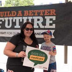 A sunny Townsville Sunday ... Medicare card not credit card Malcolm Turnbull ... my son's health is not for sale. #Inplast #ausunions
