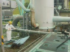 福島第一原子力発電所1・2号機主排気筒底部 非常用ガス処理系配管接合部付近