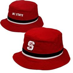 NC State Wolfpack Adidas Youth Red Bucket Hat 68f83da17910