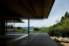 箱根富士見台 メイン棟 | Kidosaki Architects Studio Interior Architecture, Interior And Exterior, Destinations, Sweet Home, Japanese House, House 2, Pavilion, Land Scape, Villa