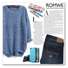 """Romwe Contest"" by yesanastasia1919 ❤ liked on Polyvore featuring Abercrombie & Fitch and romwe"