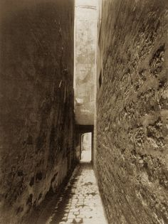 by Eugéne Atget, Entrée de la cour, 9 rue Thouin, 1910 Paris Photography, Photography Lessons, Fine Art Photography, Eugene Atget, Philippe Auguste, Weegee, Brassai, Berenice Abbott, Abstract City