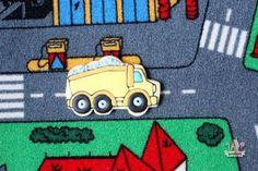 Dump Truck Decorated Cookie