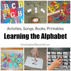 Learning the Alphabet - Activities for Preschoolers - Teaching 2 and 3 Year Olds