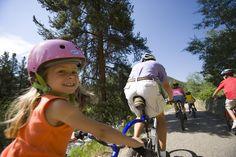 Go on a family bike ride!