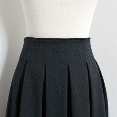 La jupe Chardon, version 2