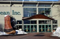 Spend some time exploring L.L. Bean's flagship store in Freeport, Maine.