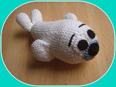 Foca de ganchillo/crochet