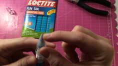 Pick Me Up Refill Stick Tutorial. I used mounting putty to refill mine.
