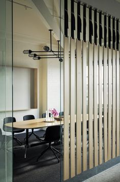 #Ширма из висящих досок #Screen by dangling boards Gallery | Australian Interior Design Awards