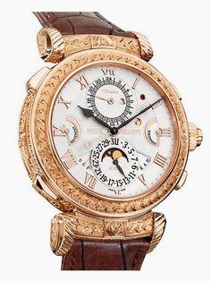 22696384918 Patek Philippe Grandmaster Chime Relógios De Luxo