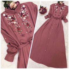 New dress designer ideas hijab Ideas Abaya Fashion, Muslim Fashion, Modest Fashion, Fashion Dresses, Korean Fashion, Modest Dresses, Modest Outfits, Stylish Dresses, Hijab Outfit