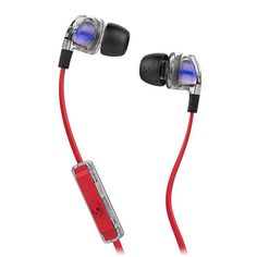 Skullcandy Smokin Buds Earphones With Mic & Remote (spaced out/clear/black) at Juno Records