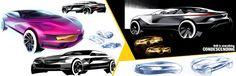 Yang Fu- BMW project Exterior Rendering, Exterior Design, Car Sketch, Transportation Design, Design Boards, Bmw, Vehicles, Projects, Automobile