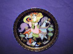 Bjoern Wiinblad Collector Plate Aladdin Rides Rosenthal IX Porcelain | eBay Vintage Plates, The Collector, Aladdin, Acai Bowl, Porcelain, Ebay, Vintage Signs, Acai Berry Bowl, Porcelain Ceramics
